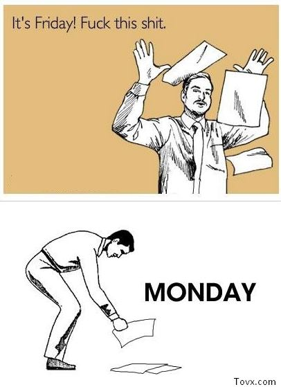 Admit it. You love Mondays.
